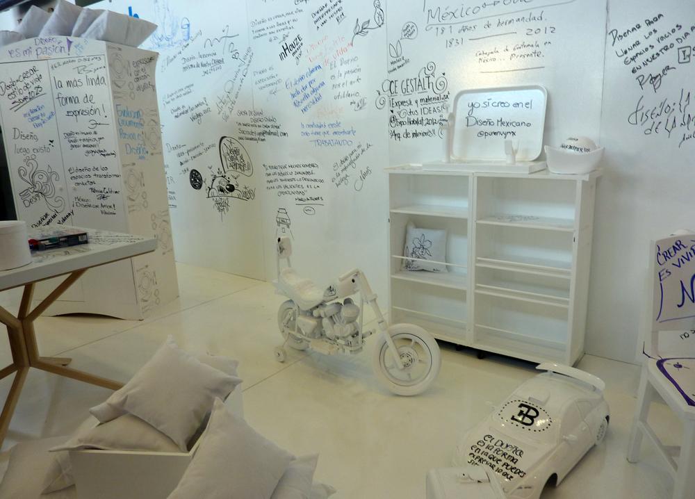 Podio comex sketch for Disenos de pintura en paredes interiores