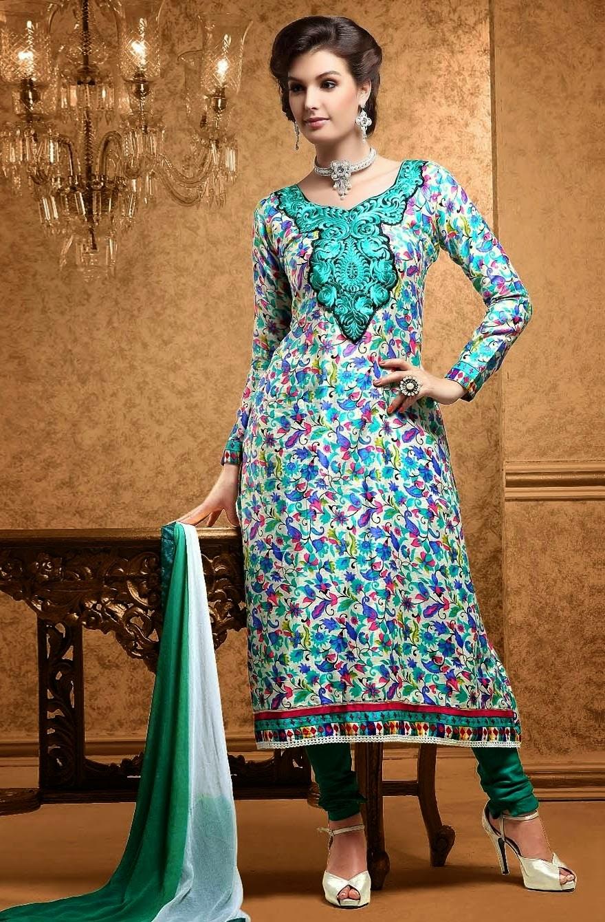 Punjabi Suits Neck Designs Party Wear Design Boutique 2014 Photos ...