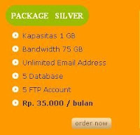 Package Silver Anekahosting.com  ,