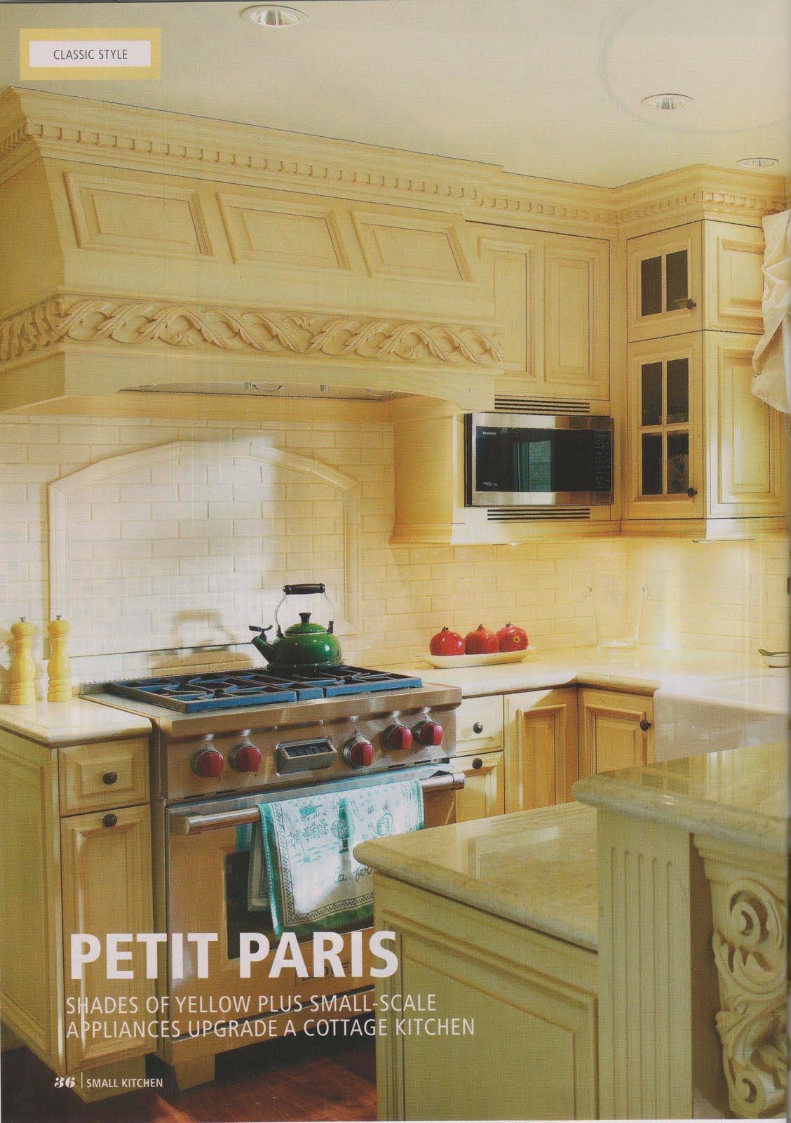 Green Interior Design + Healthy Living: Petit Paris: Shades of Yellow