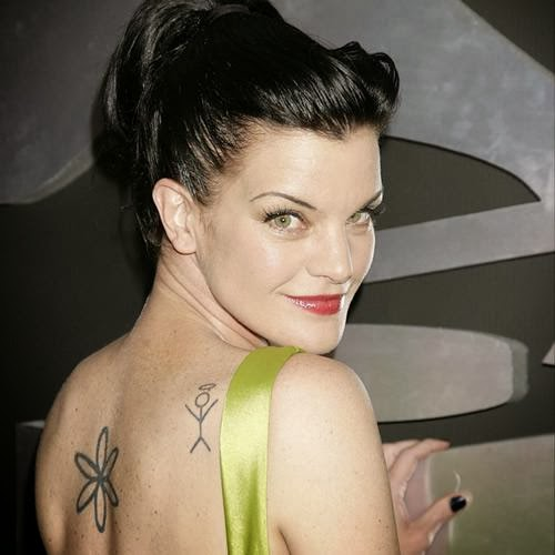 Pauley perrette tattoos for Ncis abby tattoo