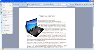 Mengambil Gambar Dari Microsoft Word