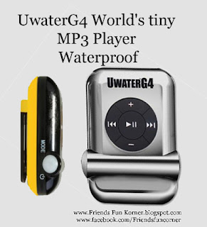 Worlds tiny MP3 Player
