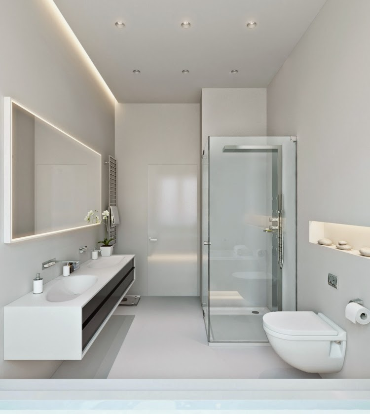 Bathroom lighting plan tips and ideas with led lights for Bathroom examples