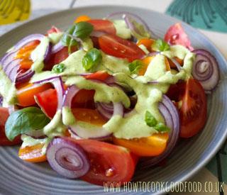 tomato Greek salad