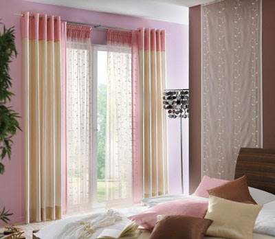 cortinas para habitación moderna