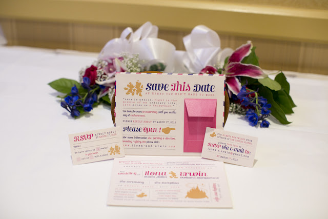 Wedding Invitation Suite - Disneyland Wedding {Sarina Love Photography}