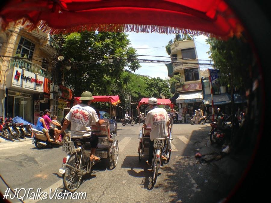 Trishaw ride