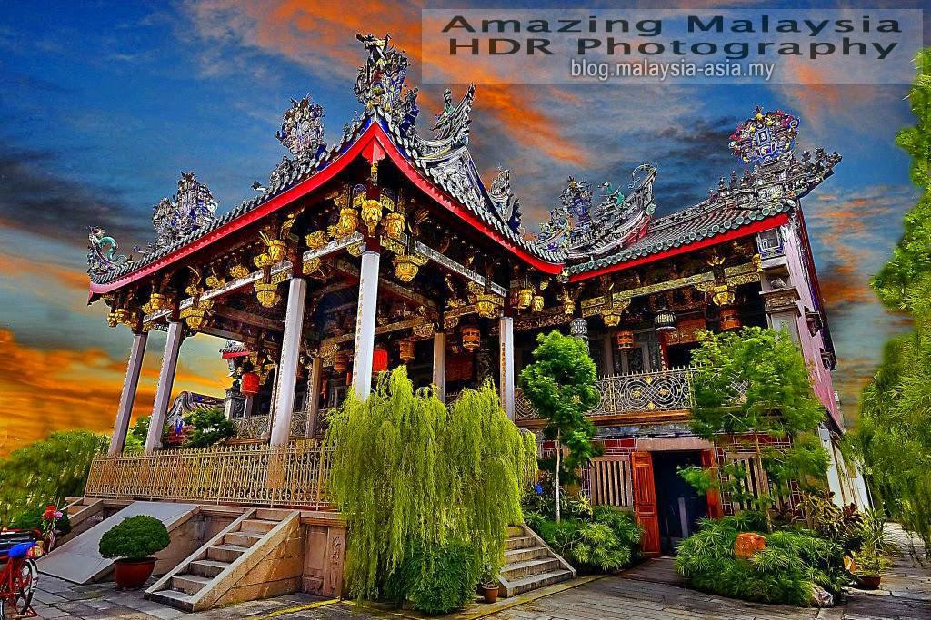 Khoo Kongsi Temple Penang HDR Photography
