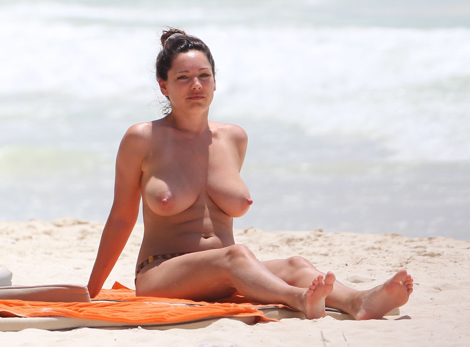 Good idea. Kelly brook nude bikini think