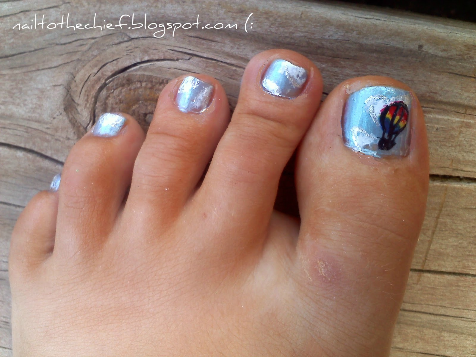 Nail To The Chief: I\'ll Be So High, My Toes Will Touch The Sky