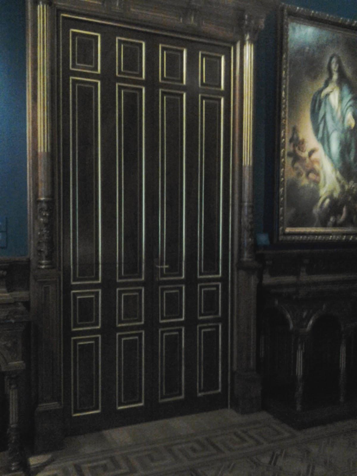 Madrid con encanto museo l zaro galdiano for Puerta que se abre sola