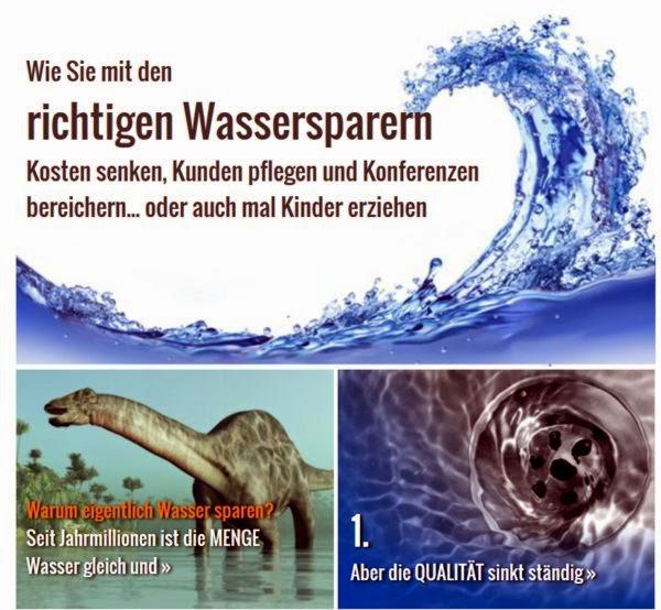 Wasserspar-Infografik