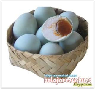 Cara Membuat Telur Asin Mudah dan Cepat