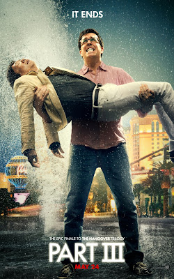 "The Hangover Part III ""The End"" Character Movie Posters - Ed Helms as Stu & Ken Jeong as Mr. Chow"