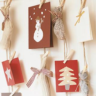 Mis peque as cosas originales ideas y manualidades para - Tarjeta navidad original ...