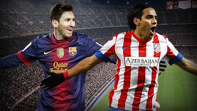 Messi y Falcao lideran la clasificación de la Bota de Oro