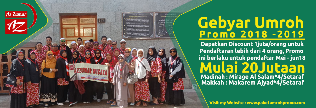 Paket Umroh Promo Harga Murah 2018 | Azzumar Wisata