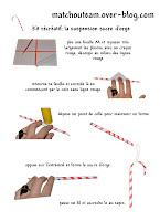 fabriquer sucre d'orge en papier