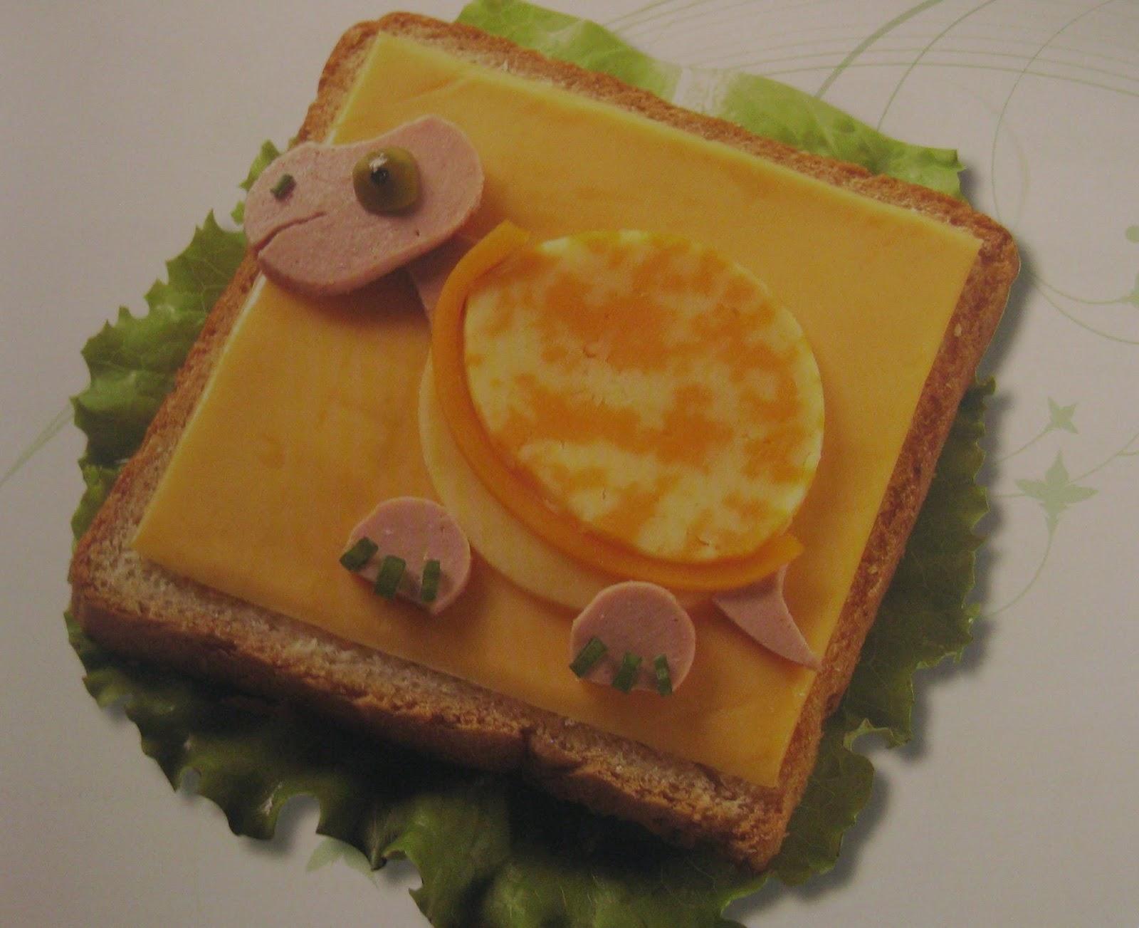 Sandwich Tortuga, Bocadillos con Arte