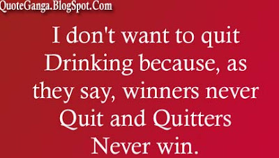 Humor Quotes about Quit Drinking