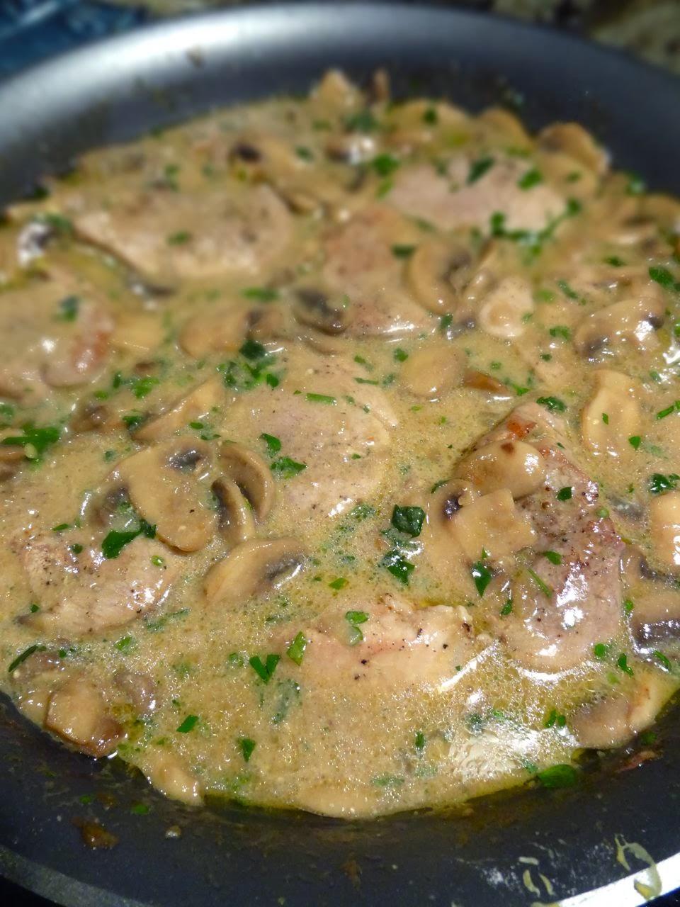 Scrumpdillyicious: Pork Medallions in Mushroom Marsala ...