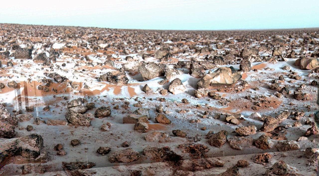 MARS VIKING 2 LANDER 18 MAI 1979