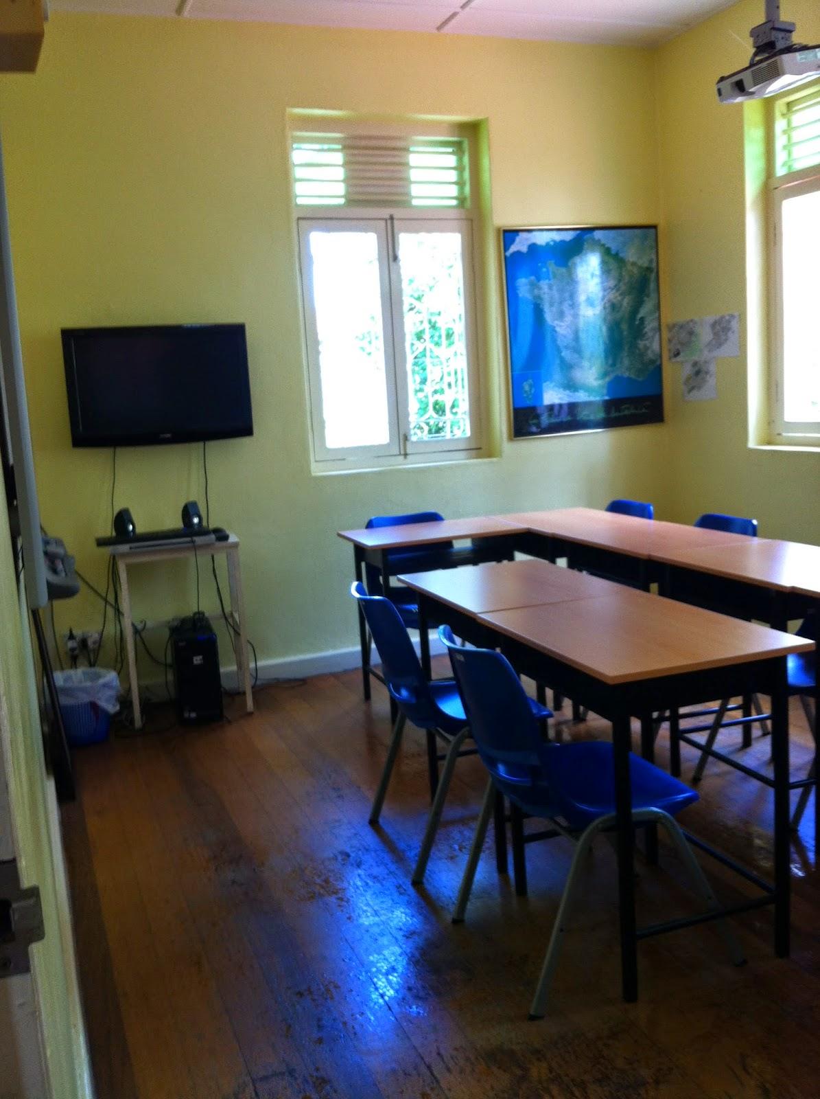 Alliance Française de Penang's classroom