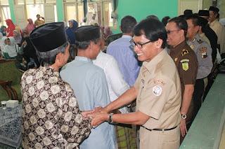 Siap Berangkat Ketanah Suci, 394 Jamaah Calon Haji Kota Pekalongan Pamitan