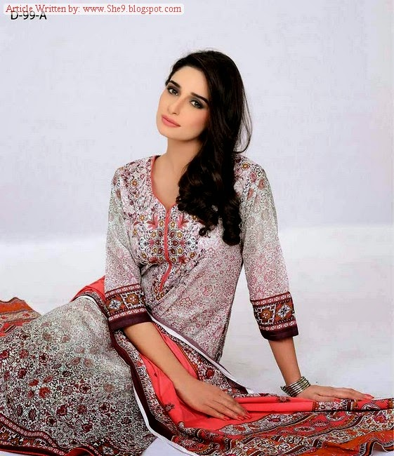 Five Star Cambric Midsummer Embroidered Collection-2014