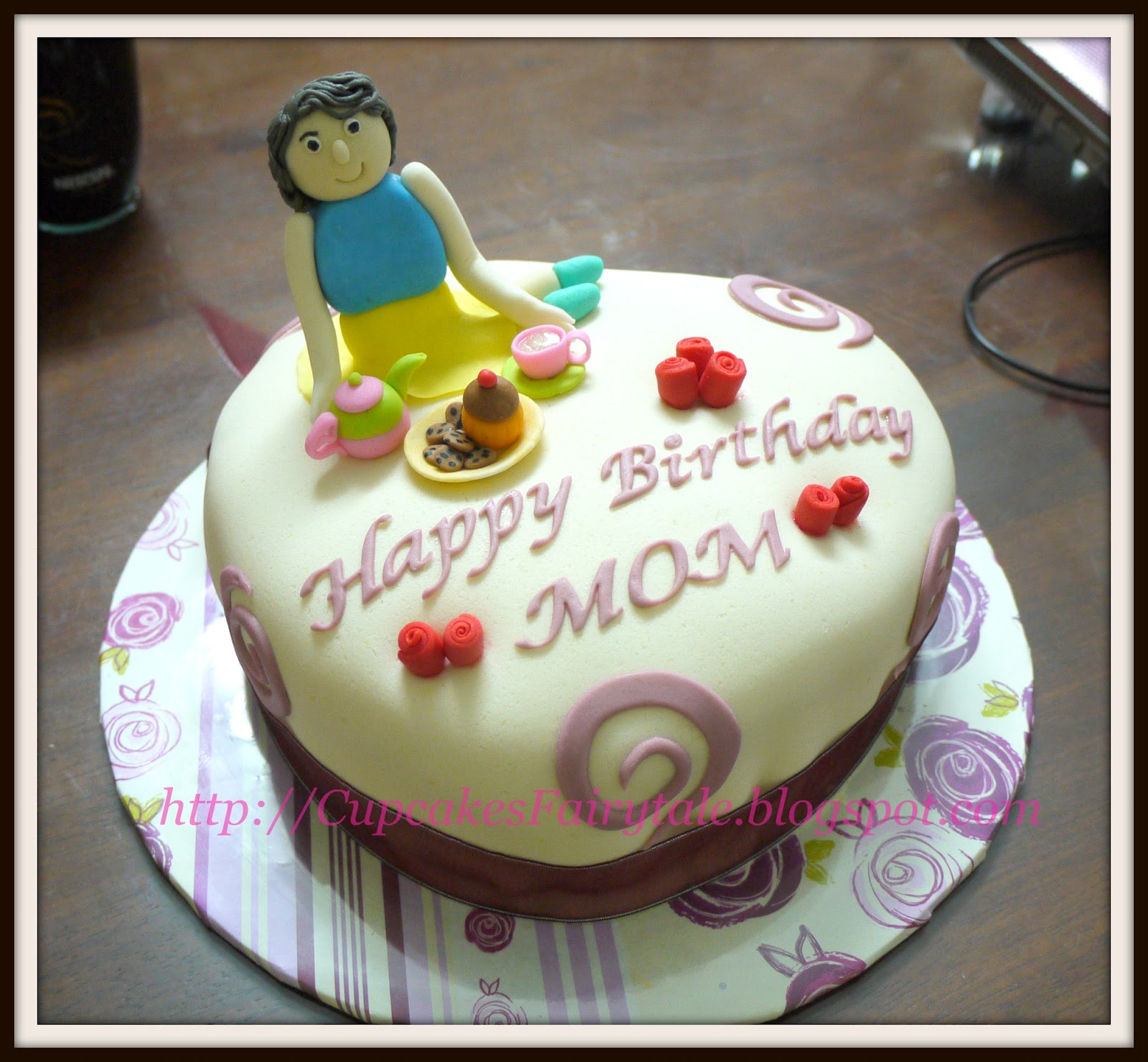 Birthday Cake For A Mom Image Inspiration of Cake and Birthday