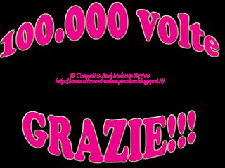 100.000 volte grazie