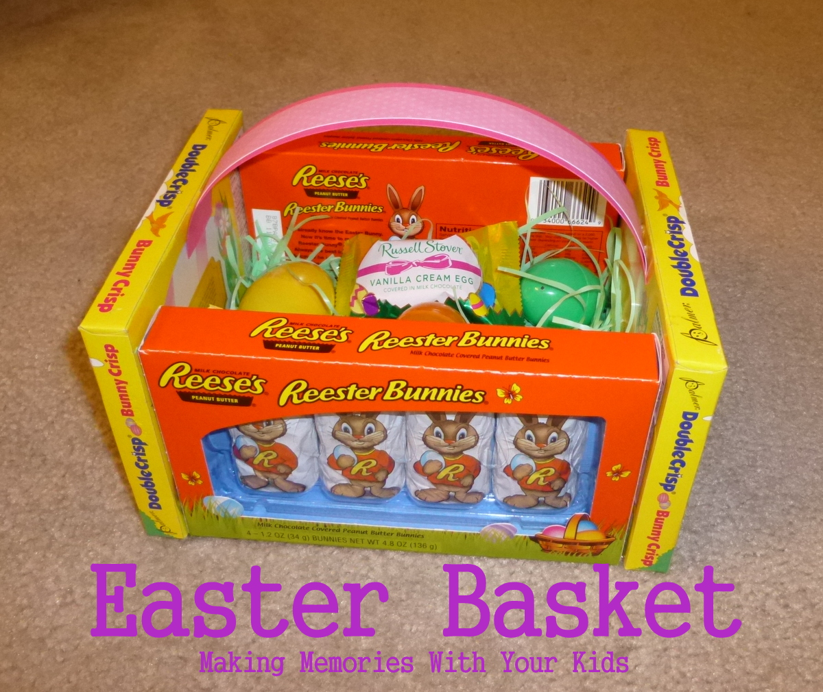 Edible easter baskets making memories with your kids edible easter baskets negle Gallery