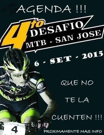 MTB - Desafío San José (4a.ed., 06/sep/2015)