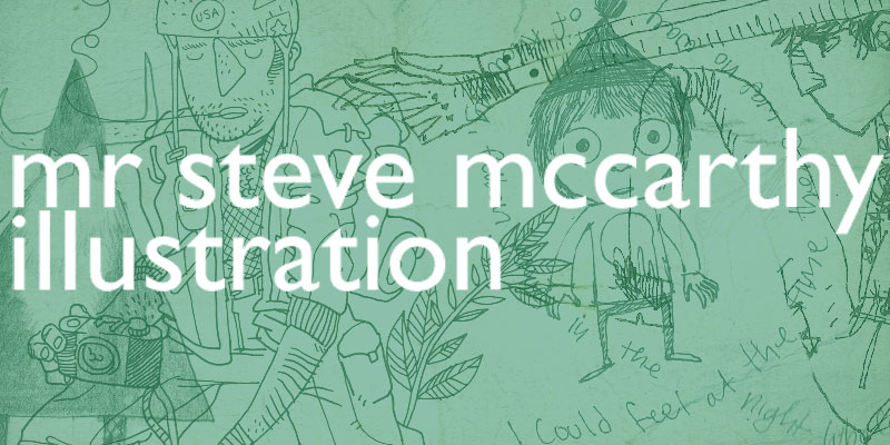mr steve mccarthys illustration blog