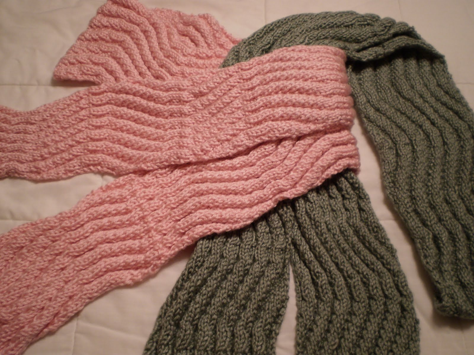 Knitting Patterns : Scarf knitting patterns gallery