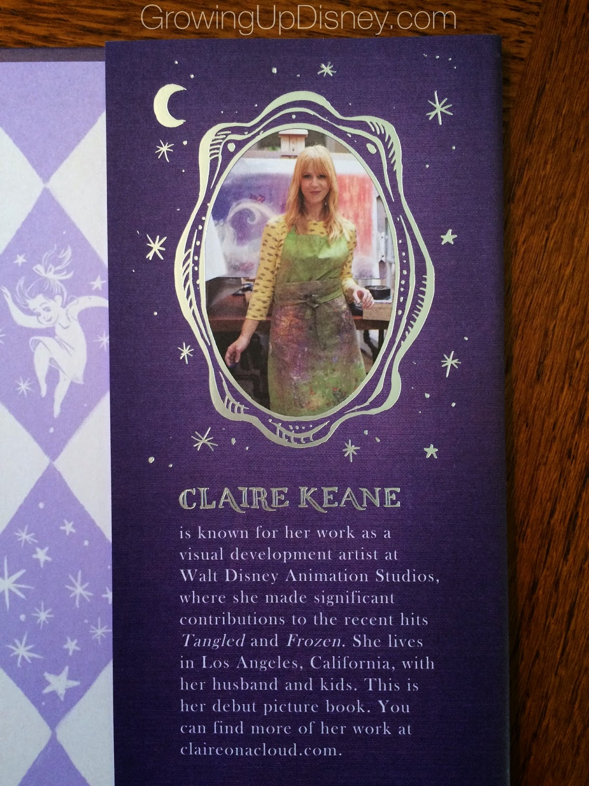 Claire Keane, Once Upon a Cloud, author photo