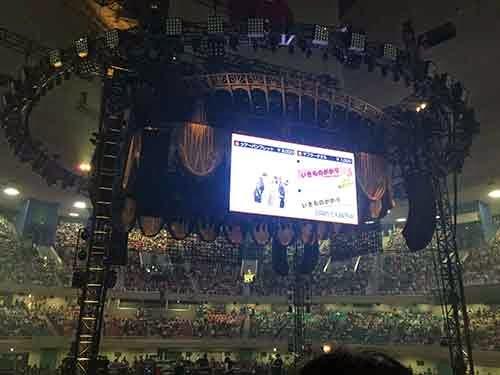 「いきものがかりの みなさん、こんにつあー!! 2015 ~FUN! FUN! FANFARE!」武道館ステージ03
