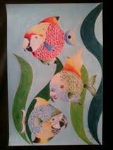 Peixes pássaros (desenho)