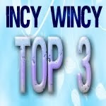 i made top 3 at incy wincy