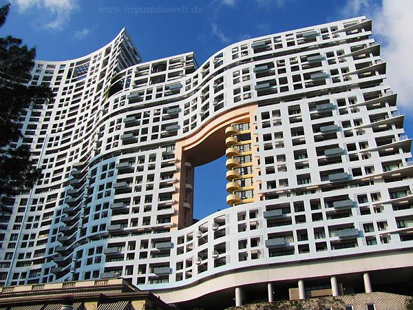 luxushaus einrichtung hong kong geräumig minimalistisch fensterfront