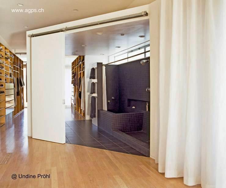Baño Vestidor Arquitectura:Arquitectura de Casas: Casa de diseño orgánico moderno en California