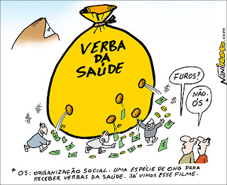organização social. verba da saúde. corrupção no rio