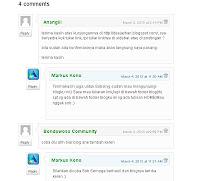 Membuat Komentar Bertingkat Seperti Wordpress