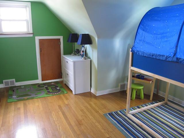 Porter's New Bedroom
