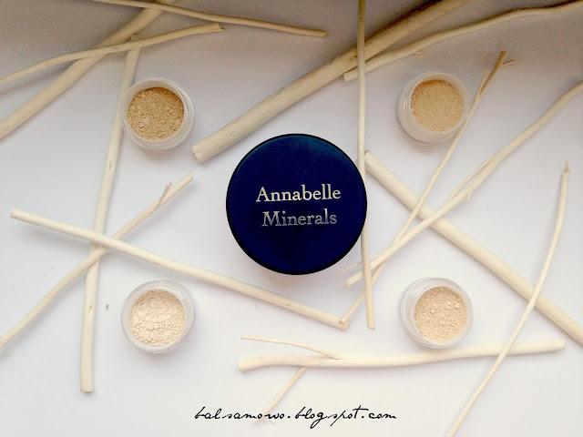 Annabelle Minerals Sunny swatche odcienie