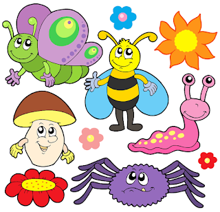 Free Bug Buttterfly Birthday Party Printables