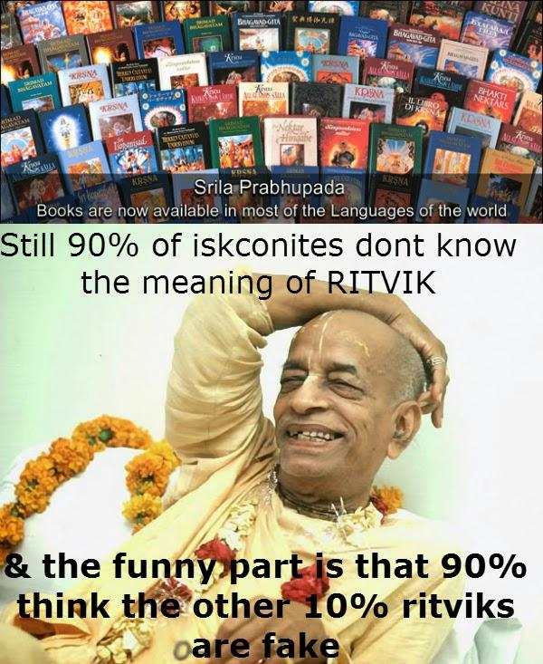Prabhupada Books Ritvik Memes