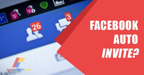 Mengatasi Facebook yang Sering Mengundang Teman ke Grup Secara Otomatis