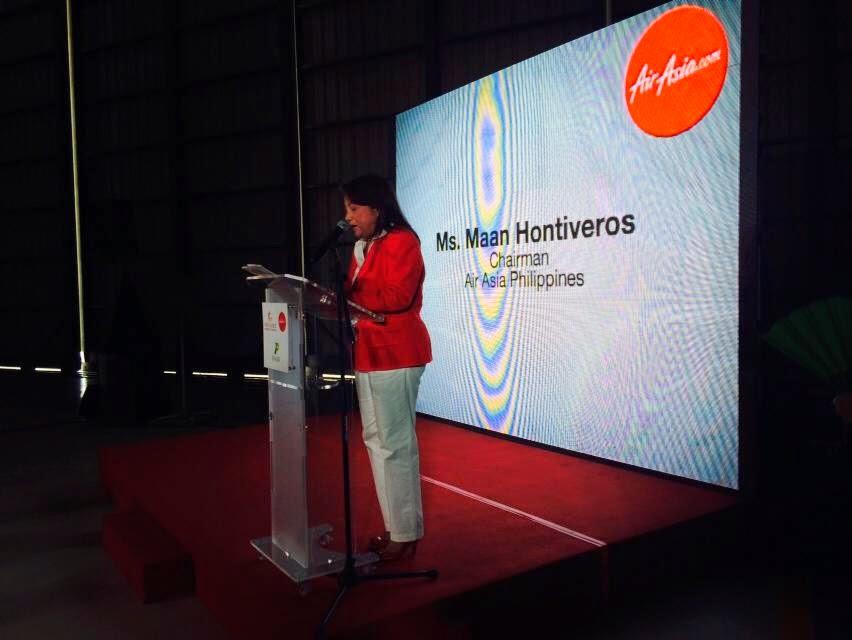 AirAsia Philippines Chairman Maan Hontiveros